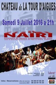 La tour d'Aigues Ensemble de danse Nairi