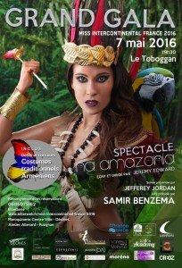 Miss intercontinentale France 2016 et défilé de costume armenienne avec l'Ensemble de danse Nairi