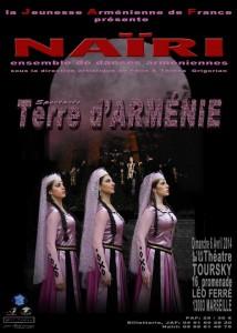 Terre d'Arménie - Ensemble de danse Nairi